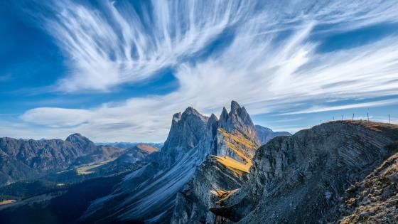 Odle Mountains (Dolomites, Italy) wallpaper
