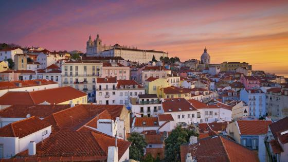 Lisbon wallpaper