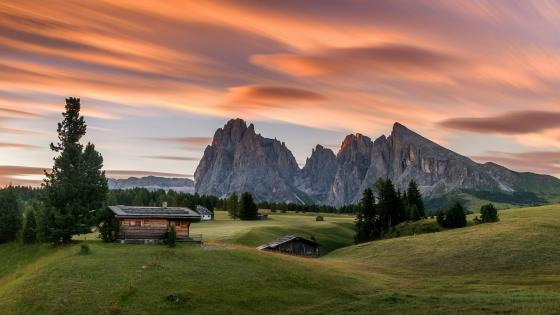 Seiser Alm, South Tyrol wallpaper