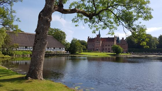 Egeskov Castle wallpaper