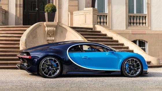 Bugatti Chiron hypercar wallpaper