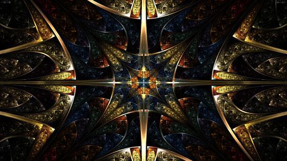 Fractal Golden Age wallpaper