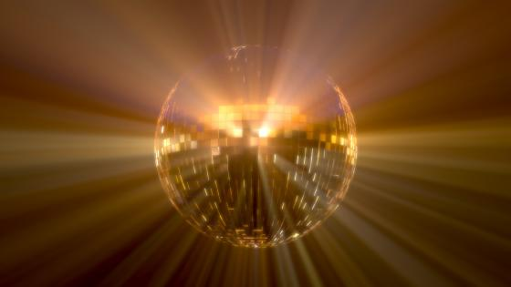 Saturday Night Disco Ball wallpaper