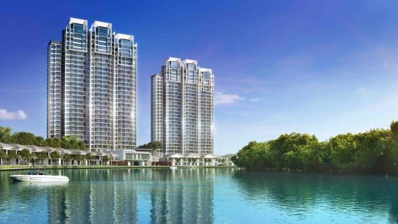 The Water Edge Apartments (Masai, Malaysia) wallpaper