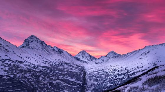 North Suicide Peak (Chugach State Park) wallpaper