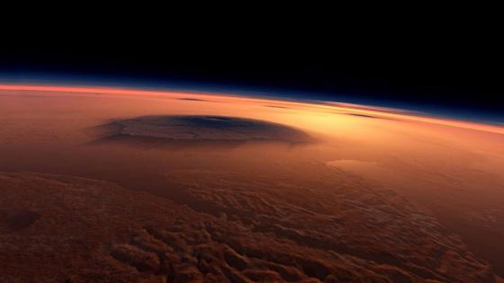 Mars atmosphere wallpaper