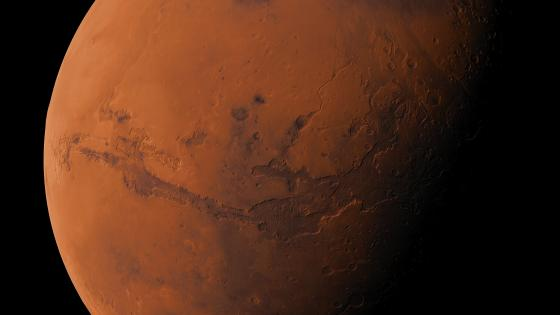 Surface of the Mars wallpaper