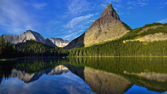 Swiftcurrent Lake, Glacier National Park wallpaper