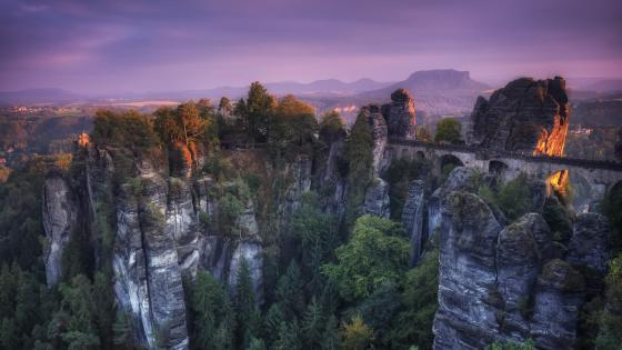 Saxon Switzerland National Park (Germany) wallpaper