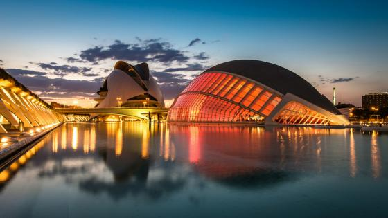 City of the Arts and the Sciences wallpaper
