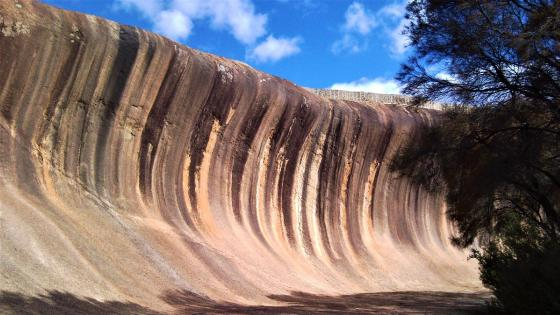 Wave Rock wallpaper