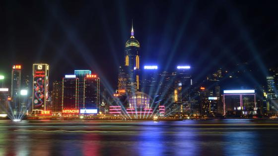 A Symphony of Lights (Wan Chai District) wallpaper