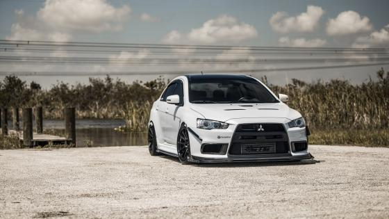 Mitsubishi Lancer Evo X wallpaper