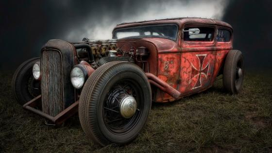 1932 Ford Hot rod wallpaper