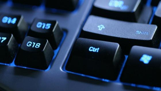 Compuet keyboard close-up wallpaper
