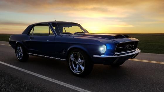67 Mustang wallpaper