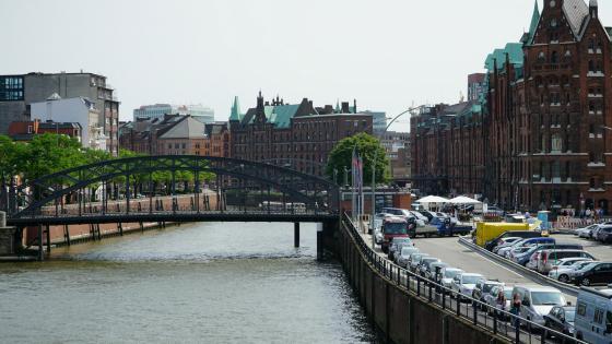 Port of Hamburg (Speicherstadt) wallpaper