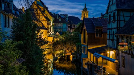 Little Venice Colmar wallpaper