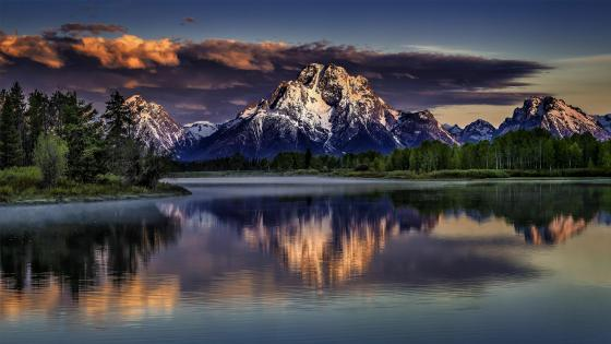 Mount Moran (Grand Teton National Park) wallpaper