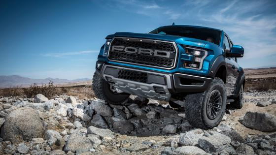 Ford F 150 Raptor Pickup truck wallpaper