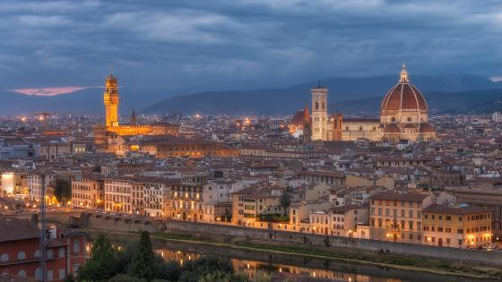 Florence skyline wallpaper