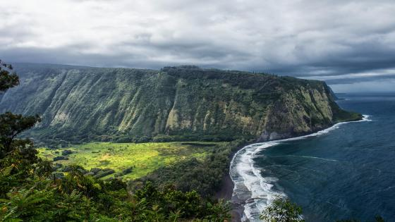 Waipio Valley, Hawaii wallpaper