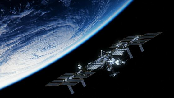 International Space Station (ISS) wallpaper