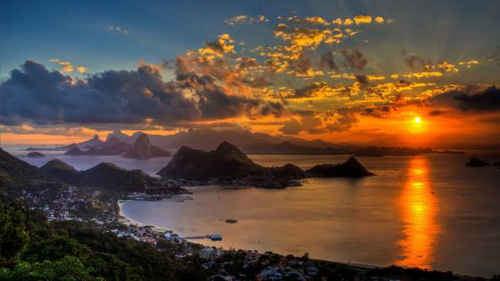 Guanabara Bay (Brazil) wallpaper