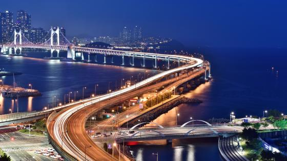 Gwangandaegyo (Diamond Bridge) wallpaper