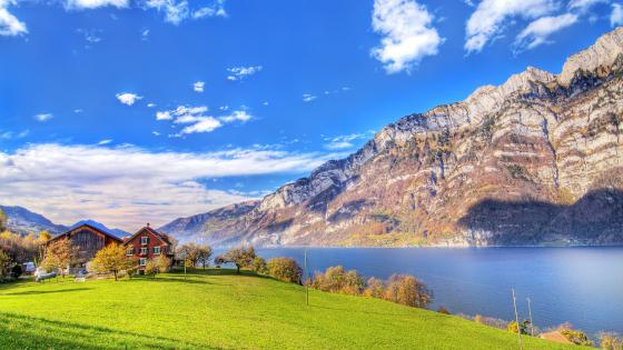 Lake Walensee wallpaper