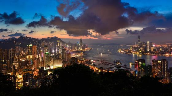 Victoria Harbour - Hong Kong wallpaper