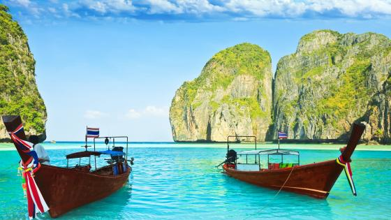 Maya Bay, Thailand wallpaper