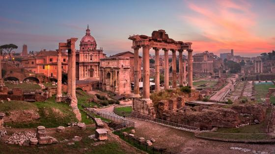 Roman Forum (Rome, Italy) wallpaper