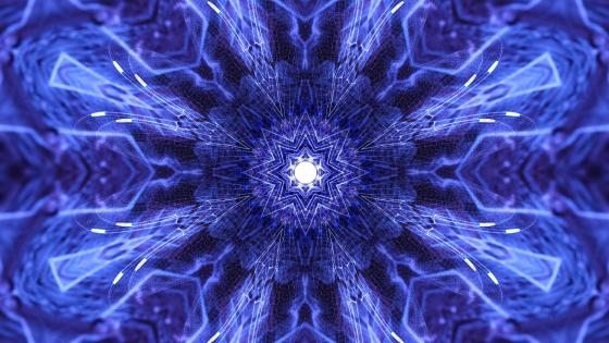 Dimensions fractal art wallpaper
