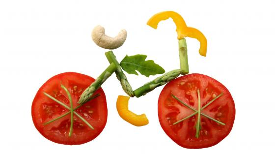 Food Bike wallpaper