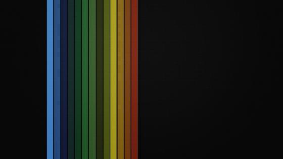 Rainbow lines wallpaper