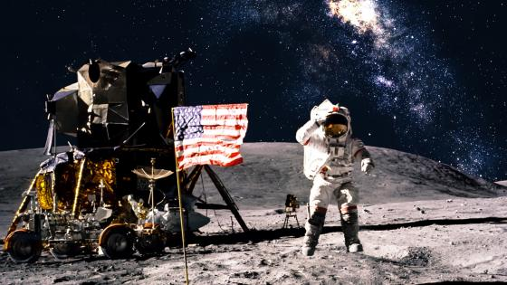 Apollo program moon landing wallpaper