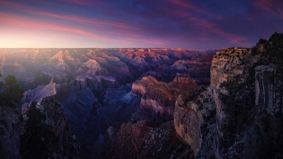 Hopi Point panorama (Grand Canyon National Park) wallpaper