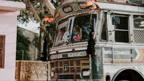 Indian bus wallpaper