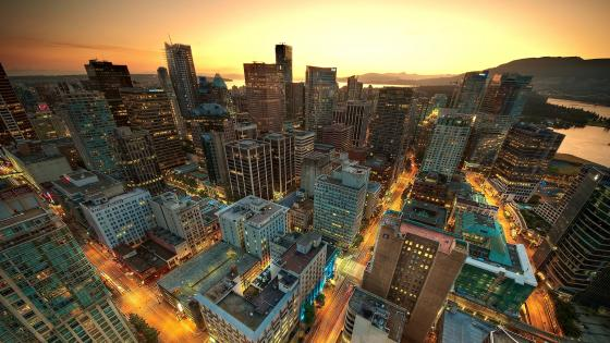 Downtown Vancouver wallpaper