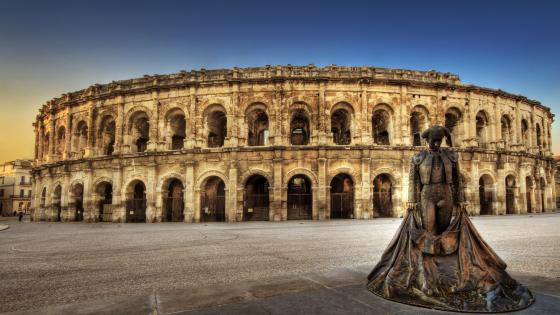 Arena of Nimes wallpaper