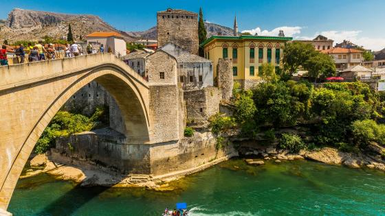 Stari Most (Old Bridge) wallpaper
