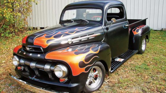 Ford pickup hot rod wallpaper
