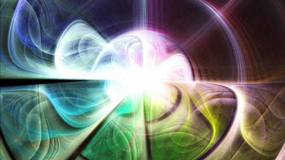 Evaporate - Fractal art wallpaper