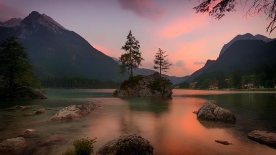 Lake Hintersee, Germany wallpaper
