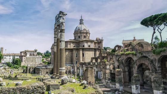 Roman Forum, Rome wallpaper