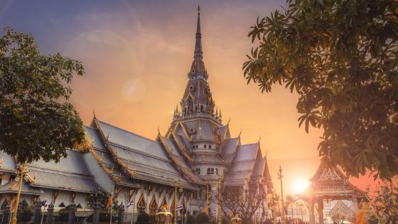 Wat Sothon Wararam Worawihan (Wat Sothonwararam) wallpaper