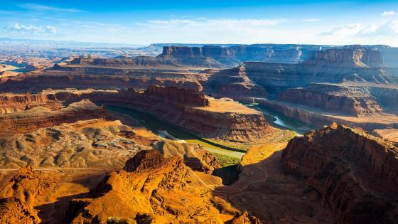 Gooseneck bend, Dead Horse Point State Park wallpaper