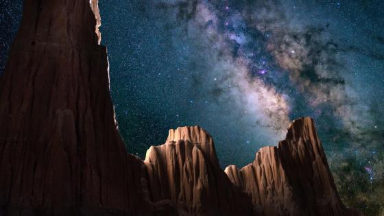 Gorgeous night sky wallpaper