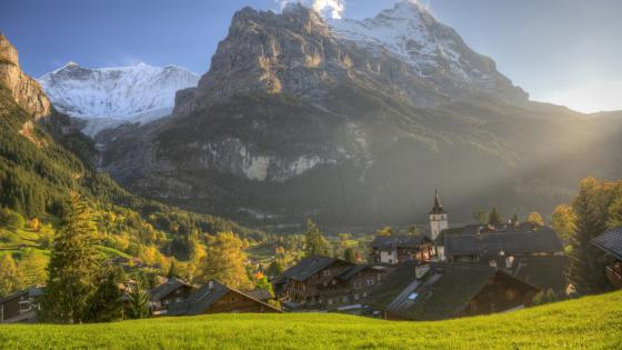 Grindelwald (Switzerland) wallpaper